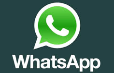 Message us from your WhatsApp application